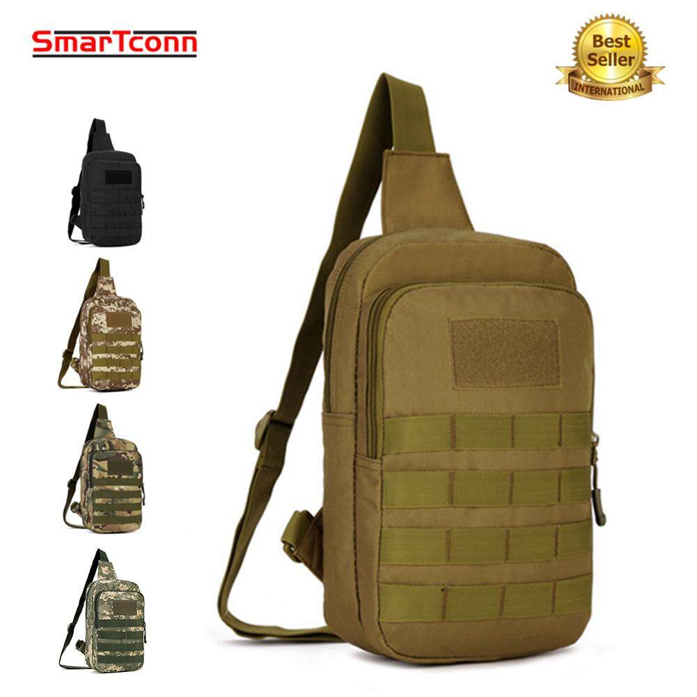 SmarTconn Military Tactical Cross Body Backpack,MOLLE Waterproof Chest Bag  Single Sling Shoulder Bag 10 bc03f9a6d79ba