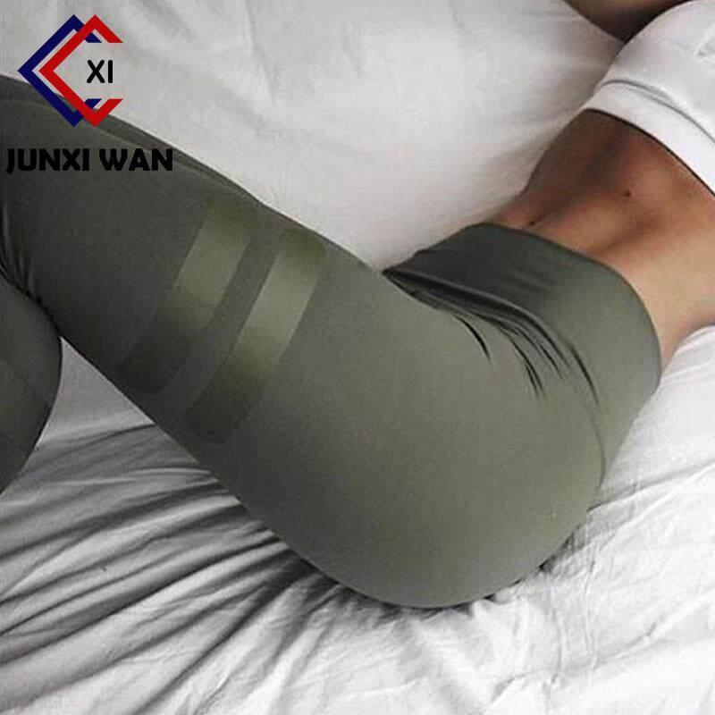 Olahraga Legging Wanita Kebugaran Cepat Kering Celana Tinggi Pinggang Leggin Kerja Ramping Jeggings Celana untuk Wanita WA0103-Internasional
