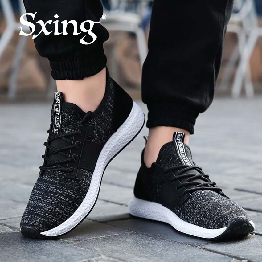 ccf8e26ff1c Spring Autumn Men s Sneakers 2017 Men Running Shoes Trending Style Sports  Shoes Breathable Trainers Sneakers Black