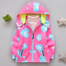 Spring Childrens Clothes Boy Girl Long Sleeve Hooded Jackets Kids Windbreaker (pink) - Intl By Scotty Dream Paradise.