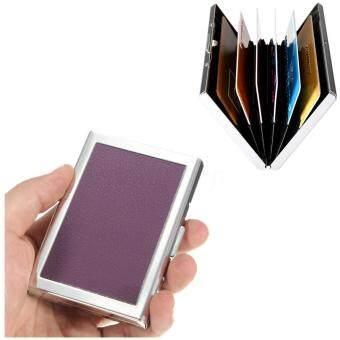 Stainless Steel Business ID Credit Card Pocket Holder Case Wallet Box Waterproof