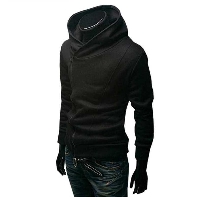 Stylish Creed Hoodie Cool Slim Coat Black Assassins for Costume Jacket s Cosplay Men