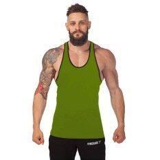 Summer Fashion Tank Tops Men's Vest Mens Singlets Solid Fitness Sleeveless Men Undershirt Bodybuliding ...