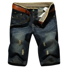 Summer Hot Sale Mens Leisure Fashion Jeans Short Trousers Pants Masculina  Boardshorts Plus Size a910889a70f5