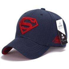 512877f5fd4 Superman Baseball Cap Hats for Men Women Adjustable S Logo Letter Casual Outdoor  Snapback Hat(