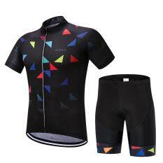 6a8b14c51 SUREA 2017 New Mtb Breathable Bicycle Clothing Summer Men Quick Dry Cycling  Jersey Shorts Set
