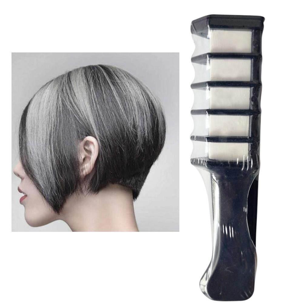 Glide On Hair Chalk Kapur Rambut Europe And America Market Pewarna 24 Warna Temporer Temporary Dye Powder With Comb Salon Mascara Crayo Intl