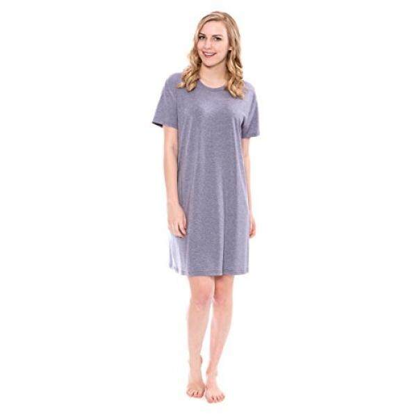 Texere Leher Potongan Pendek Wanita Baju Tidur (Heather Atlantic Kecil) Peringatan Hari Jadi Ulang