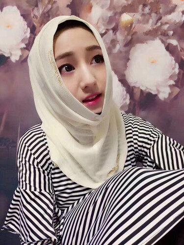 Saat Ini Bungkus Kepala Putaran Bo Sarung Kepala Gaya Baru Malaysia Nyaman Turban Salon Kecantikan Putri tua Wanita, muslem, dan Akan-Internasional