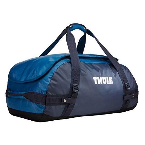 Thule Chasm Olahraga Tas Duffel, Hitam Biru/Poseidon,