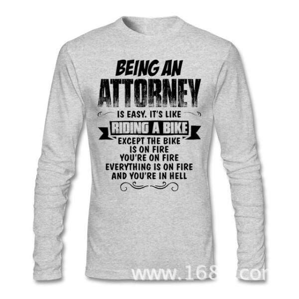 1f70dee0182 Xinyu THW2 FREE SHIPPINGCool Being An Attorney Shirt Men Male Custom Long  Sleeve Bespoke Party Bottoming