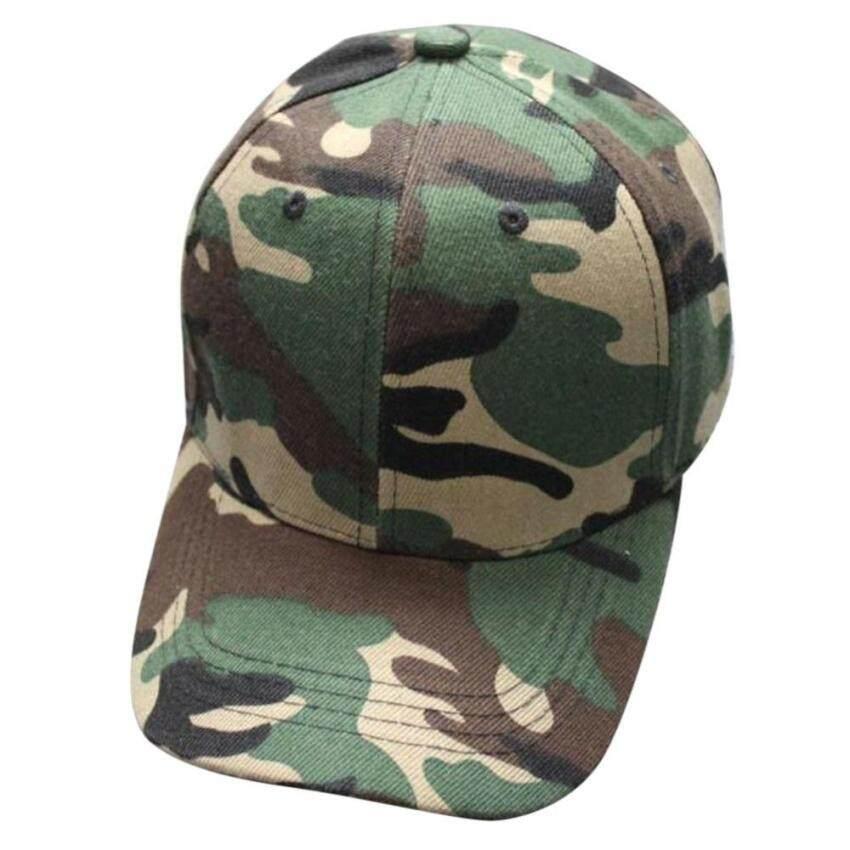 Huade Unisex Camo Topi Bisbol Militer Topi Berburu Tentara Kamuflase (Int  Satu  Ukuran) b1145d1252