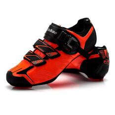 Tiebao TB36-B1407 Cycling Road Bike Look SPD-SL System Shoes Orange New