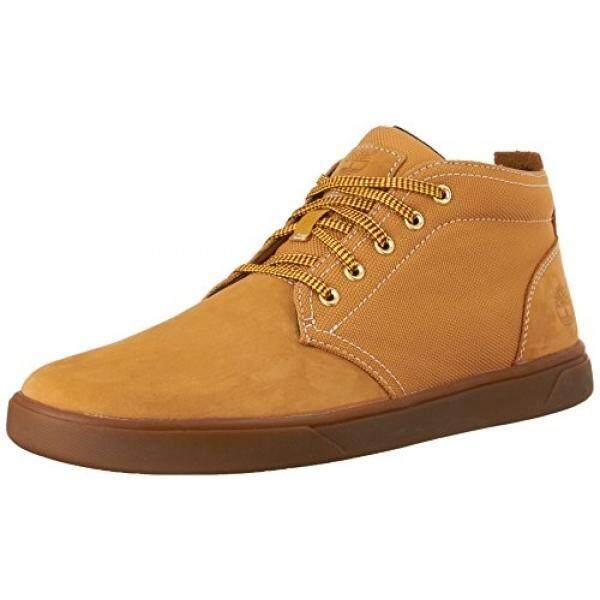 30a5aba4901 Timberland Mens Groveton Leather Fabric Chukka Boot, Wheat Nubuck, US - intl