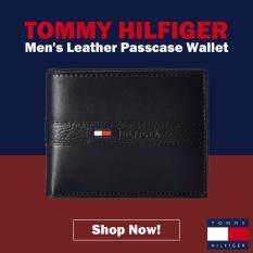 30ce1dce210 Tommy Hilfiger Men's Ranger Leather Passcase Wallet with Removable Card  Holder(NAVY)