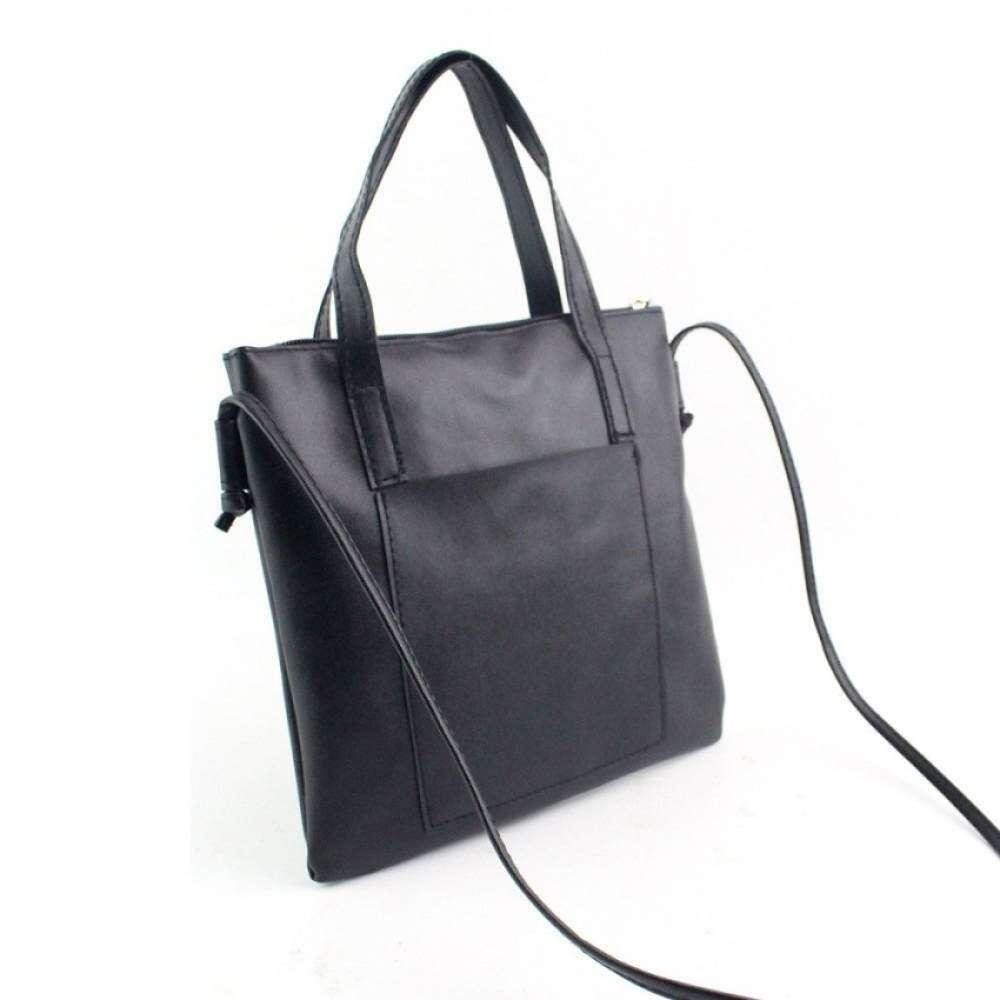... Top rate Coconiey Women Fashion Handbag Shoulder Bag Large Tote Ladies Purse Black Free shipping