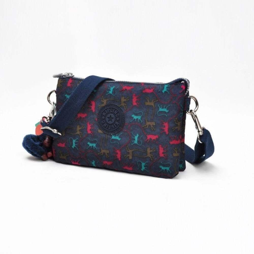 Top rate Creativity L Cosmetic Pouch Women's Girl Lady Lightweight Waterproof Nylon Clutch Bag Cross Body