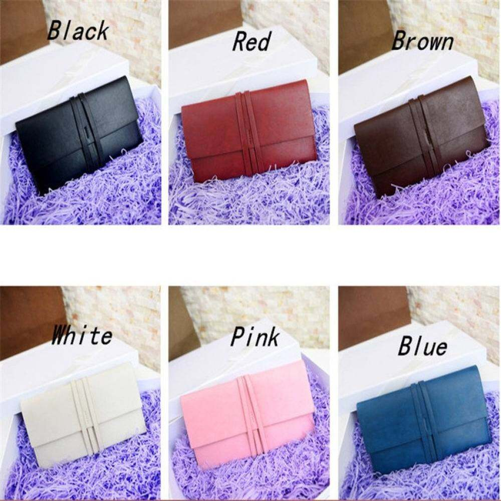 Toprate HKS Fashion Women Lady Faux Leather Wallet Holder Card Purse ClutchHandbag Red