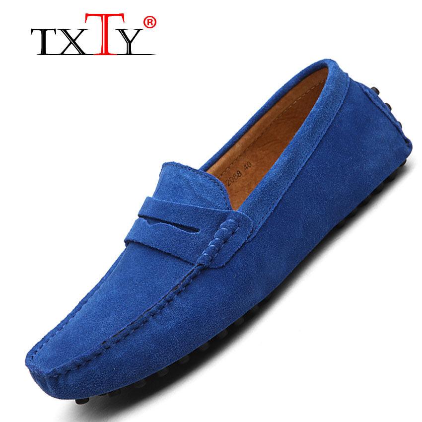 Price Compare Txty Men S Light Slip On Flats Shoes Man Casual Boat Peas Shoe Men S Male Shoe Size 38 49 9Color Banlan Intl