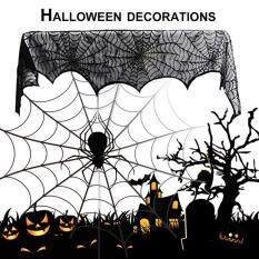 Giá bán Ubest Special Black Lace Mantel Scarf Halloween Party Horror Door Window Scarf Cover