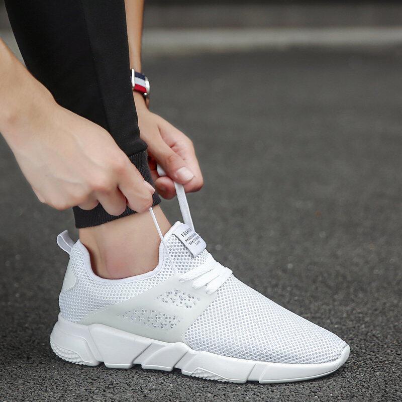 Ucom Nyaman Pria 'S Sepatu Modis Sneakers Elastisitas Eropa Station Jalanan Jaringan Sepatu Luar Ruangan Renda Sepatu Lari Nyaman Sepatu Santai kasut Lelaki-Internasional