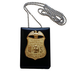 Usa Fbi Dept Officer Special Agent Badge Card Id Cards Holder Collection By Ruishunbiz.