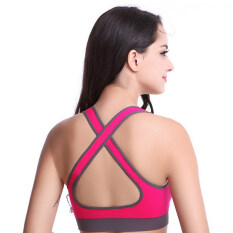 Useful Size M Hotpink Sexy Women Of Sports, Fitness Running Apparel For Women, Jogging Racerback Sports Bra By Shenerda.