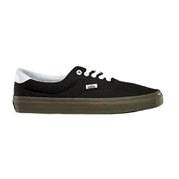 d734a03d7ed096 Vans Unisex Era kate Shoe Bleacher Black Gum 10 B US Women   8.5 D