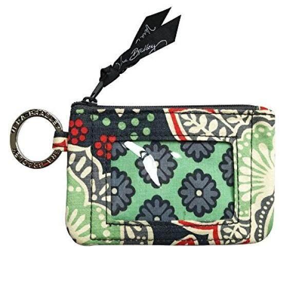 Vera Bradley Zip ID Card Case (Nomadic Floral) - intl