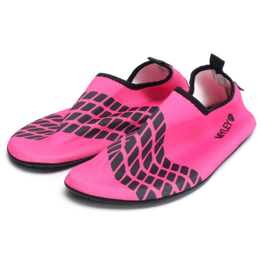 Water Sport Shoes Toggle Surf Aqua Beach Yoga Swim Pool Socks For Women M - intl