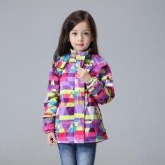 Waterproof Windproof Baby Girls Jackets Child Coat Children Winter Autumn Outerwear (purple) - Intl By Scotty Dream Paradise.