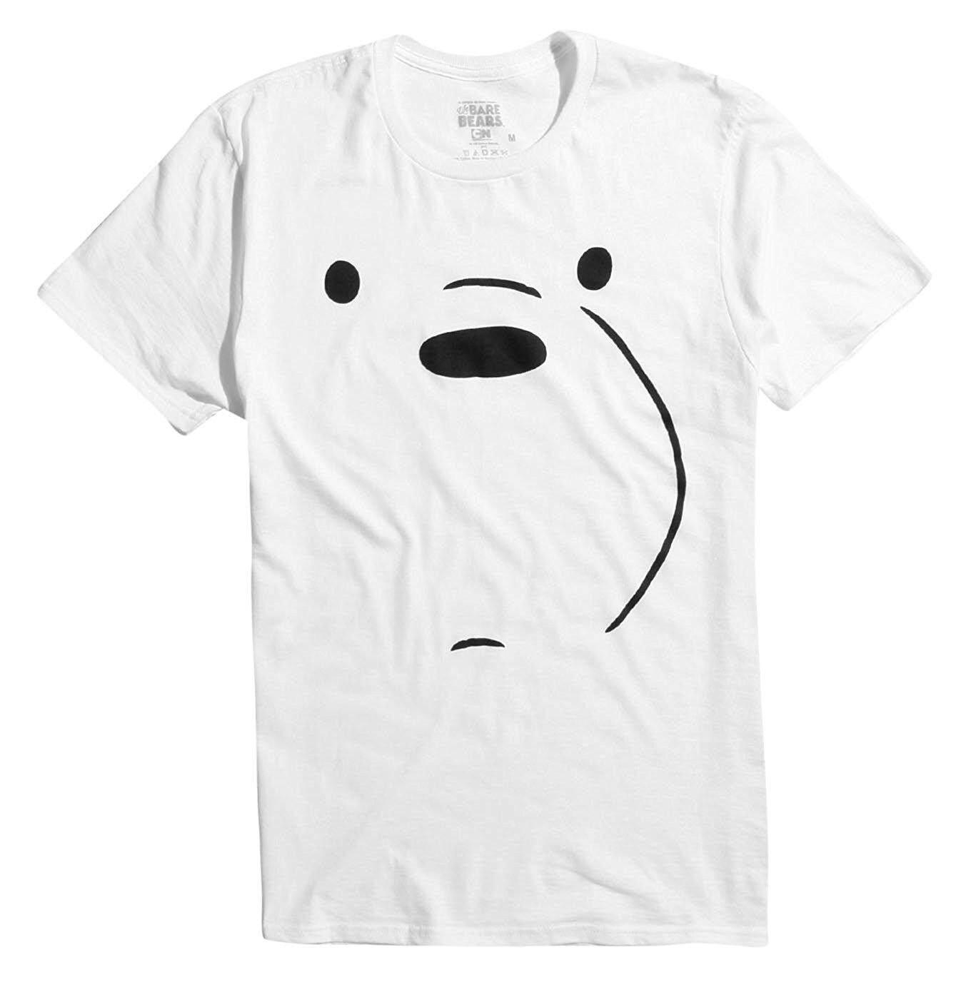 We Bare Bears Ice Bear Men S T Shirt White Intl Online