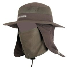 436f08203cc OS Wide Brim Bucket Hat Outdoor 360 degree Sun Protection Fishing Hat With  Removable Neck and