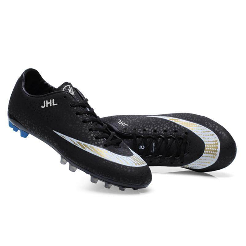 032854bd1e2 2018 New Arrivals Men s Turf Indoor Soccer Futsal Shoes Kasut Bola Sepak  Lelaki 35-44
