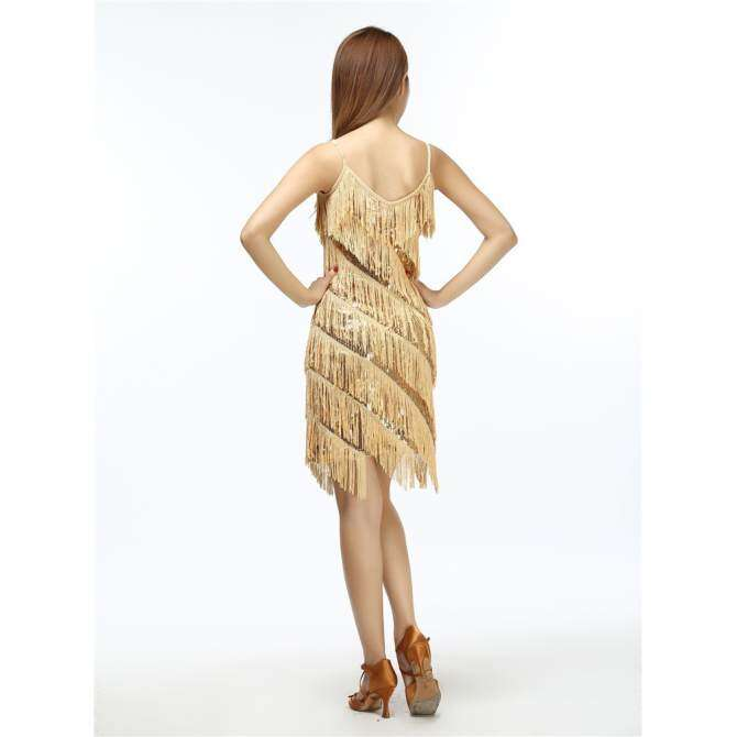 5dd57559c6 Woman Flapper Fringe 1920s Gold Vintage Great Gatsby Sequin Party Dress  Plus Size Cheap Slip Sexy Summer Dress