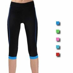 Women Bicycle Cycling Bike Underwear 3d Padded Short Pants Shorts (blue) By Trusted Fashion Home.