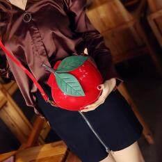 Mode UNTUK WANITA Apple Dompet Tas Jinjing Bahu Messenger Pesta Pernikahan Tas Tangan Merah