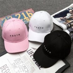 d72530f76cd Women Men Baseball Cap Hip Hop Youth Cotton Casquette Adjustable Hat White  One size