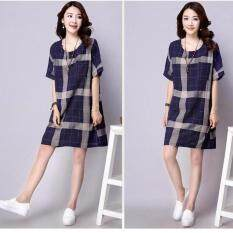 women-plump-lady-pregnant-dress-chequered-shorts-linen-sleevea-line-dress-o-neck-shirt-dress-tops-plus-size-blue-ampnbsp-5223-705218201-c3d568a97e75f11be9c793e9cd0756cc-catalog_233 Ulasan List Harga Model Busana Muslim Pesta Untuk Orang Gemuk Terbaik waktu ini