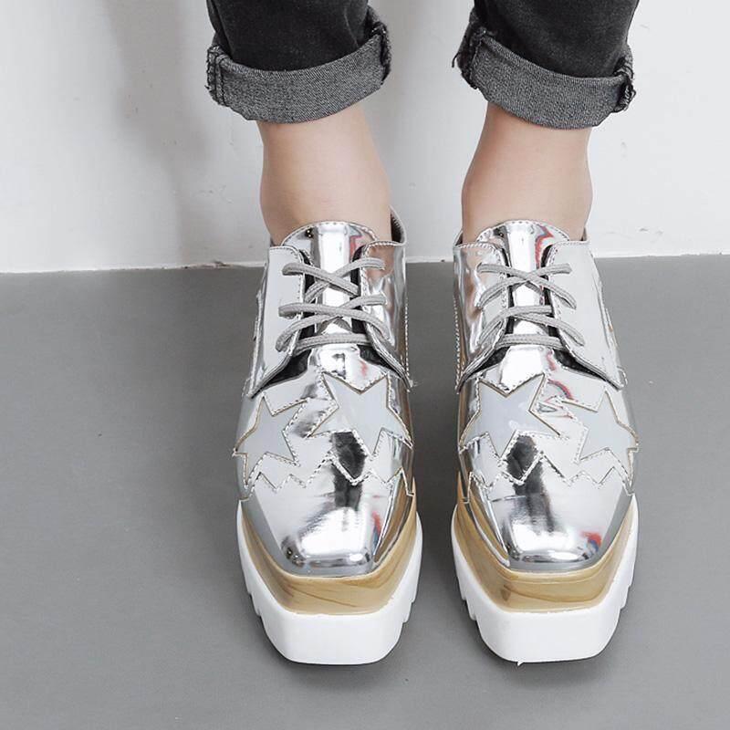 รีวิวสินค้า ลดราคาสุด ๆ Women's Square Toe Wedge Shoes