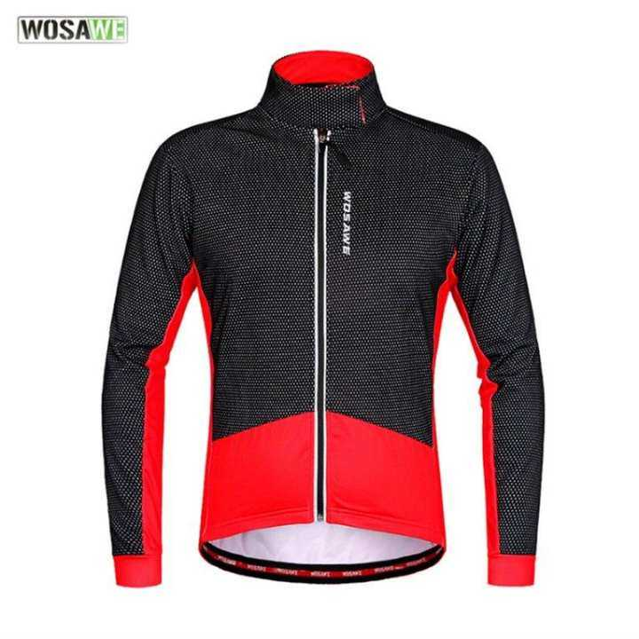 WOSAWE Outdoor Sports Riding Cycling Jacket Windproof Jacket Bicycle Clothing