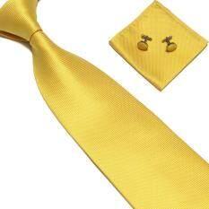 Woven Silk Necktie Handmade Mens Tie Cufflinks And Handkerchief Set Hanky Gift By Runrun123.