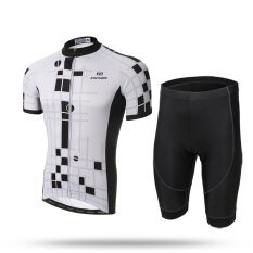 Xintown Cycling Short Set Summer Short Sleeve Suit Male Bike Wisdom By Yellow People International Trade.