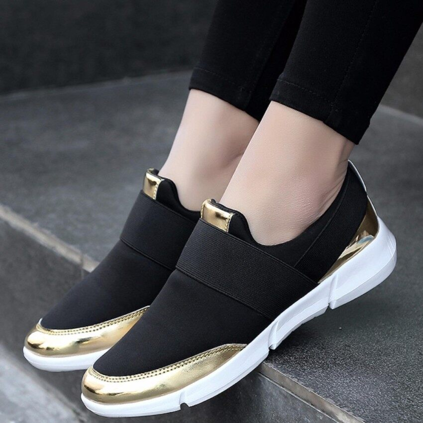 57bfe73804d ZOWIE Women Slip-on Sneakers For Women Outdoor Running Shoes Casual Fitness  Shoes Ladies Driving