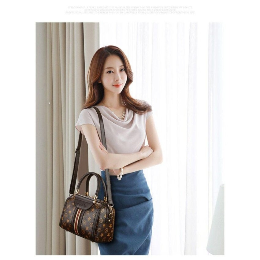 Cestlafit 2017 New Brand Women Handbag Genuine Leather Shoulder Bag Elegant Tote Bag - 2017 Jenama Baru Wanita Handbag Asli Kulit Bahu Beg Elegant Tote Bag - intl