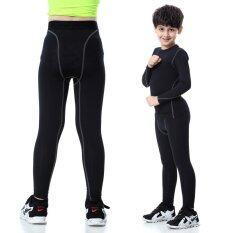 Youth Boys Sports Compression Legging Pants By Shenzhen Feisibuke Dianzi Shangwu Youxiangongsi.