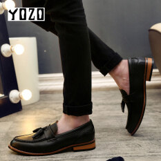 Yozo Fashion Men Shoes Luxury Mens Business Casual Classic Gentleman Shoes Man Genuine Leather Men Dress Shoes By Zocn.