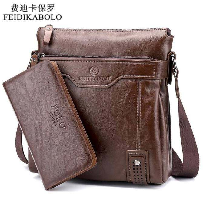 YSLMY 2015 New Arrival Hot Selling business casual leather man bag Fashion brown handbags and purses