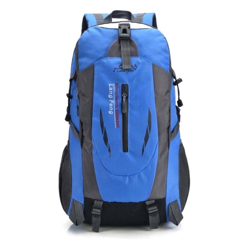 Man bag YSLMY Salju Bai Li Outdoor Mountaineering Ransel Besar Kapasitas Kasual Perjalanan Tas Tas Olahraga