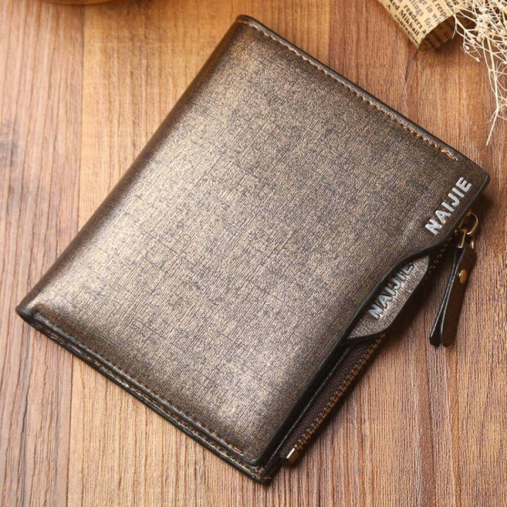 MYR 28. YSLMY The New Trend Of Men's Short Men Wallet Wallet Wallet Purse Wallet Casual Business Card Bag Student Bag MailMYR28